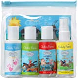 Childs Farm, kit di prodotti detergenti per bambini, 4 x 50 ml