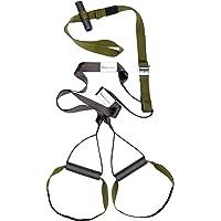 Variosling® Original Sling Trainer Modell 2018 Schlingentrainer mit DVD Übungs-Poster + Sicherheitshinweise für Suspension Trainer Training