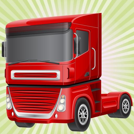 rennspiel mit lastwagen f r kinder fahren die gr ten. Black Bedroom Furniture Sets. Home Design Ideas