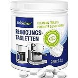 Pastilles de nettoyage pour machine à café - compatible avec Jura Delonghi Siemens Bosch Krups Melitta 260x tablette à 2 gram