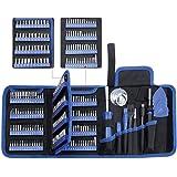 Jeu de tournevis de précision 170 en 1 Kit de pilote magnétique Kit d'outils de réparation professionnel avec sac portable po