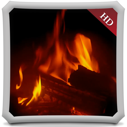 Warm Fireplace HD - Wallpaper & Themes