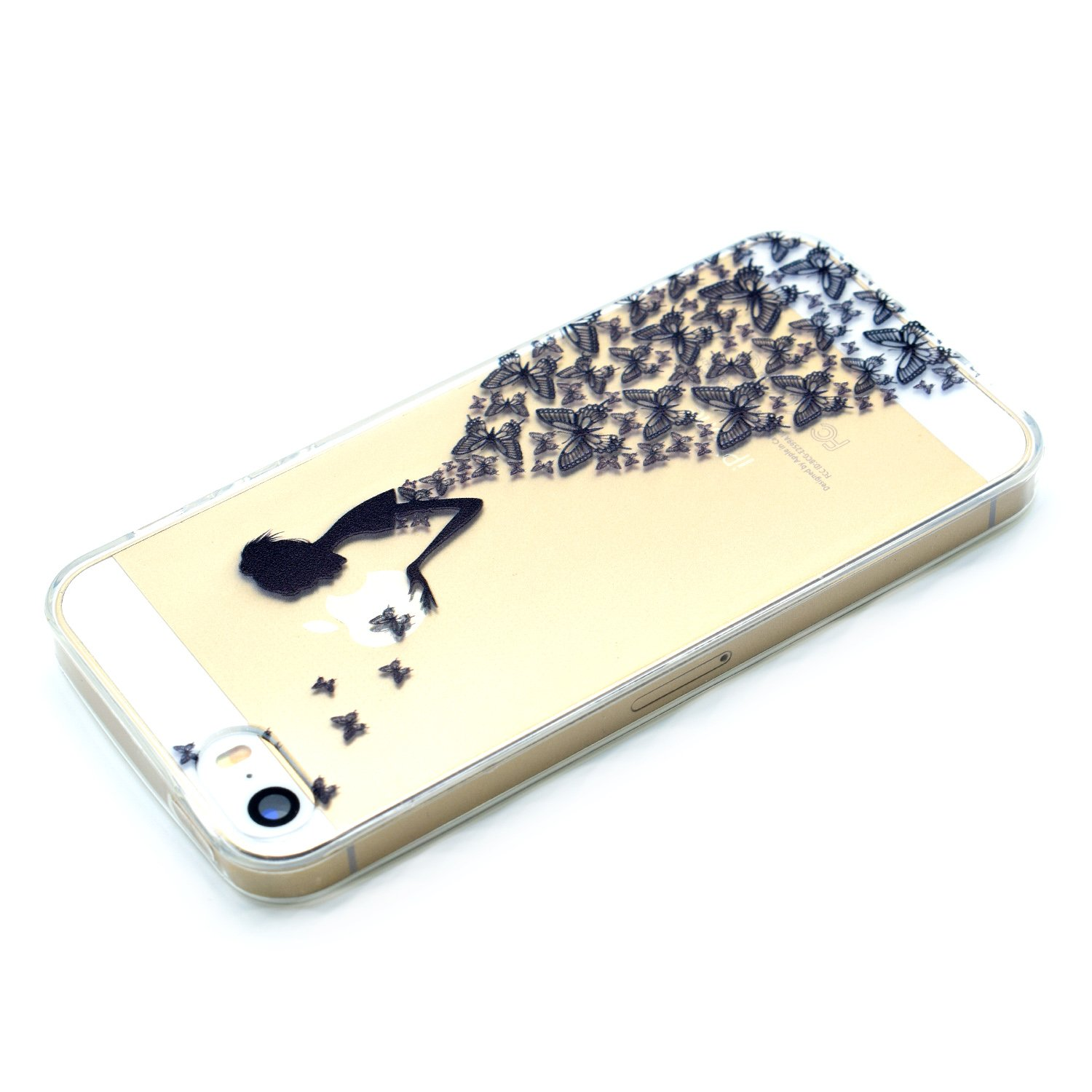 Funluna Cover iPhone 6s / iPhone 6 Silicone Morbido Custodia in