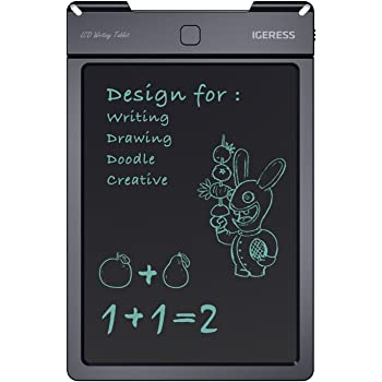 Blue Demiawaking 8.5 inch LCD Writing Tablet Electronic Drawing Pad Graphics Digital Drawing Tablet Doodle Board for Kids Adults Office