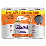 Zeina Kitchen Classic Tissue 6 Rolls Orange
