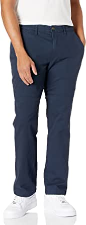 Amazon Essentials Men's Athletic-Fit Washed Comfort Stretch Chino Trousers