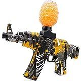 بندقية كهربائية لمسدس الماء AKM-47 مسدس لعبة الطلقات المائية الاوتوماتيكية للاطفال البالغين من عمر 12 عاما فاكثر، العاب خارجي