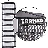 TRAFIKA Malla Essiccazione/Tela Microperforata/8 Moduli 55cm Diametro/per Colture idroponiche/Essiccazione Stagionatura di Piante,Funghi,Cime/Coltivazione Indoor/Coltura Esterna/Drying Rack (55)
