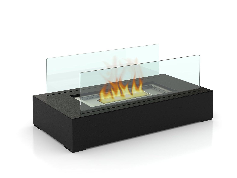 firefriend df bioethanol fireplace  table fireplace  - firefriend df bioethanol fireplace  table fireplace  stainlesssteel design amazoncouk garden  outdoors