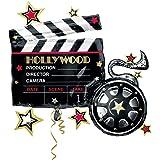 Anagram International 2670401 Hollywood Clapboard Balloon Pack