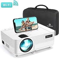 Videoprojecteur WiFi, VANKYO 5000 Lumens Projecteur sans Fil 1080P Full HD Supporté Retroprojecteur Synchronisation d'écran, Compatible avec Smartphone, Tablette, Lecteur de Jeux, HDMI USB AV