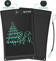 NEWYES Schreibtafel LCD Writing Tablet, 8,5 Zoll, Papierlos für Schreiben Malen Notizen (Schwarz)