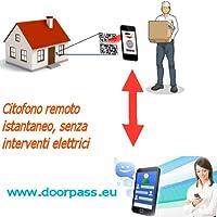 Citofono Virtuale Completo - Nessuna Installazione Elettrica - Attivazione Immediata