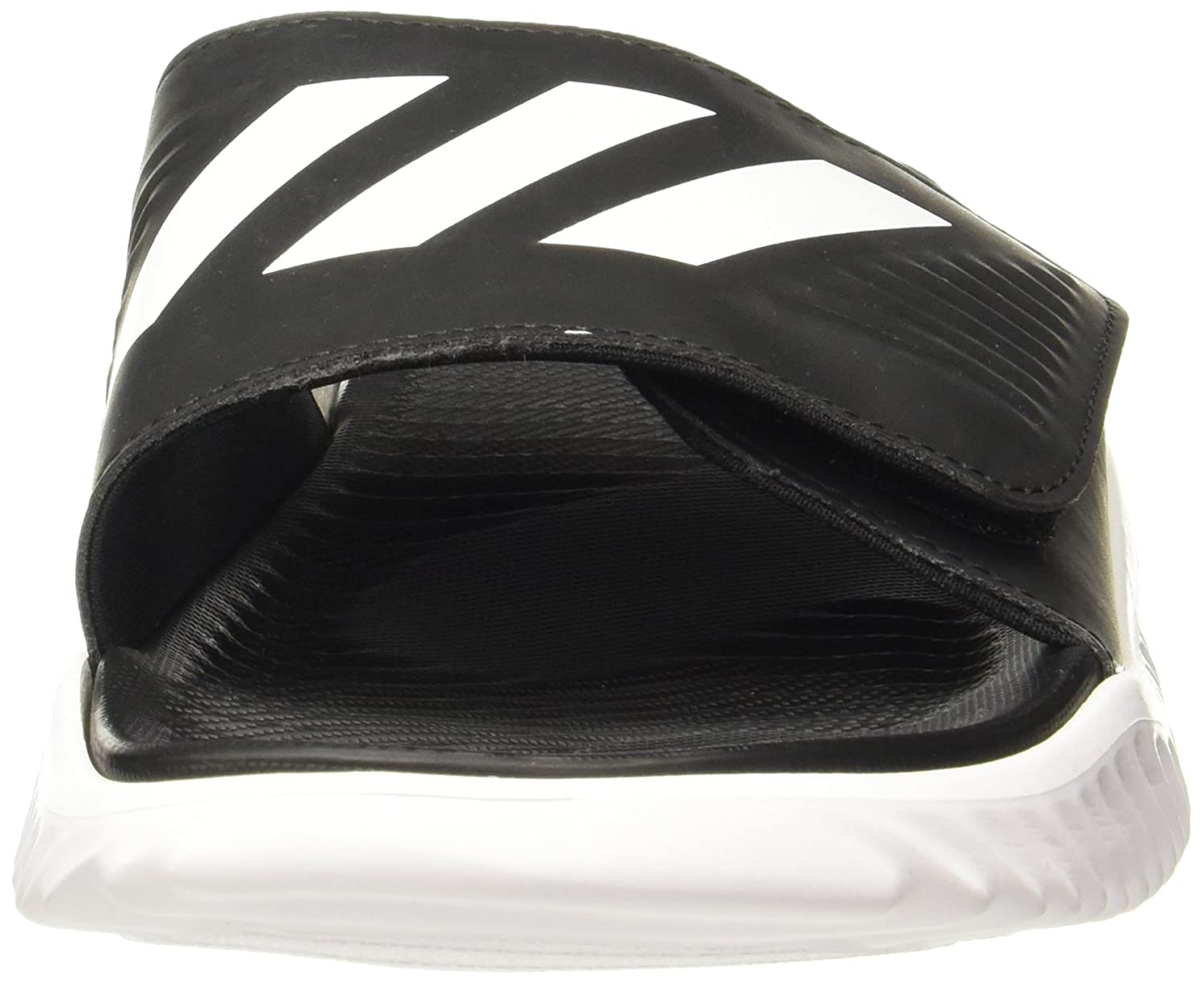 a51ccccb65e Adidas Men s Alphabounce Slide Ftwwht Cblack Ftwwht Flip-Flops - 11 UK India  (46 EU)  Buy Online at Low Prices in India - Amazon.in
