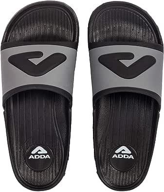 ADDA Men's Black Slider - 8 UK