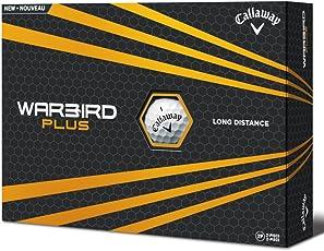 Callaway Warbird Plus palline da golf 2016, bianco (confezione da)