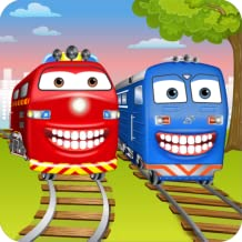 Train Dentist & Wash Game for Kids - Full Version: Construction Train, Trolley Tram, Subway and more!