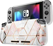 Mumba Protective Case for Nintendo Switch, [Girl Power] Soft TPU Grip Case Cover for Nintendo Switch Console with Shock-Abso