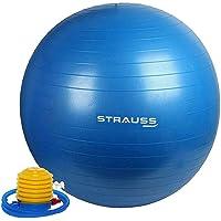 Strauss Anti Burst Gym Ball with Foot Pump
