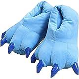 YELAN Peluche Peluche Unisex Pantofole Animal Costume Paw Claw Shoes