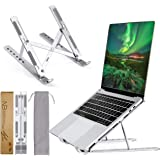 Plixio® Laptop Stand,Adjustable Laptop Stand,Aluminum Laptop Stands,Ergonomic Laptop Stands Compatible with MacBook Air Pro,L