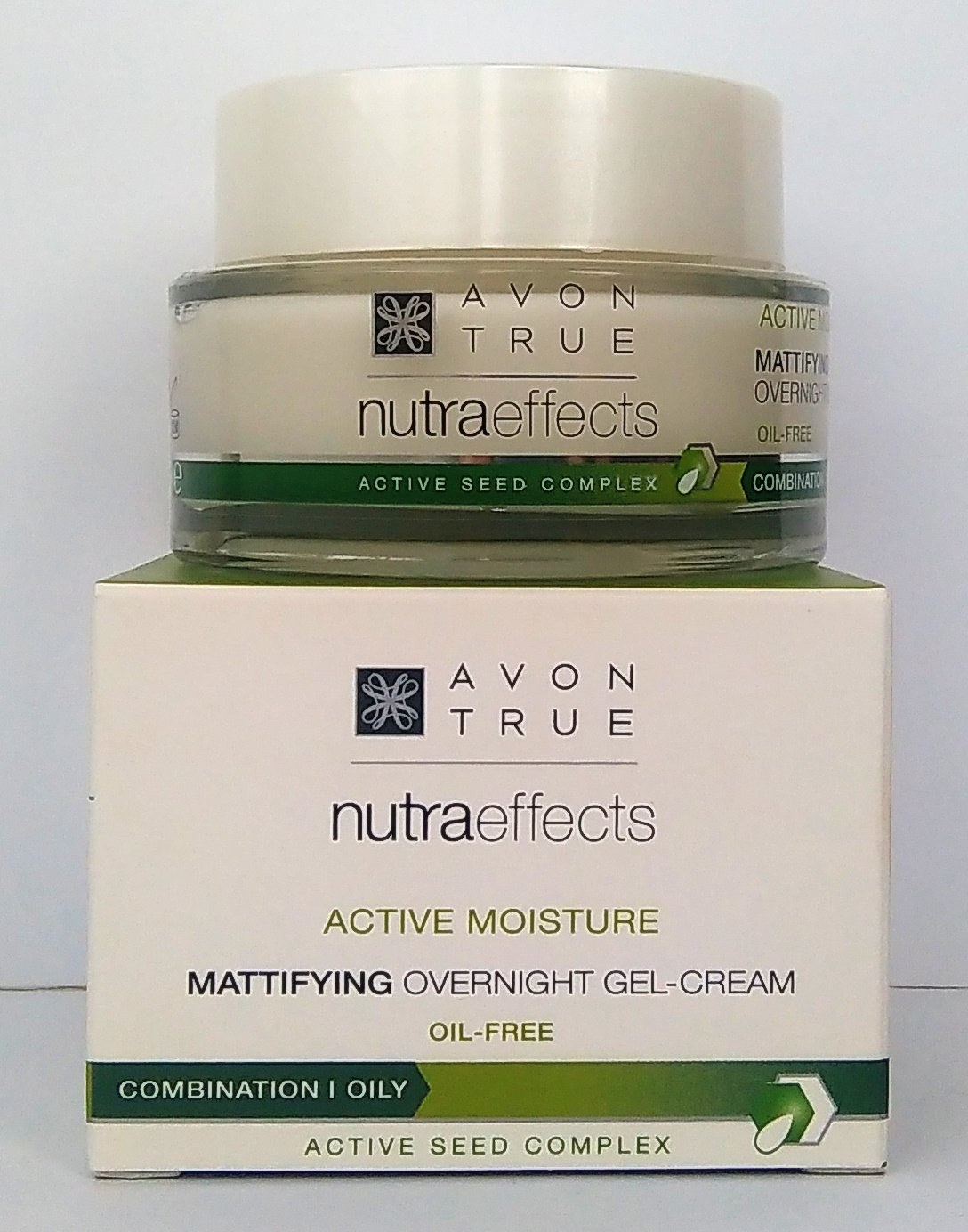 AVON True Nutraeffects Mattifying Gel-Crema De Noche Matificante Sin Aceite 50ml