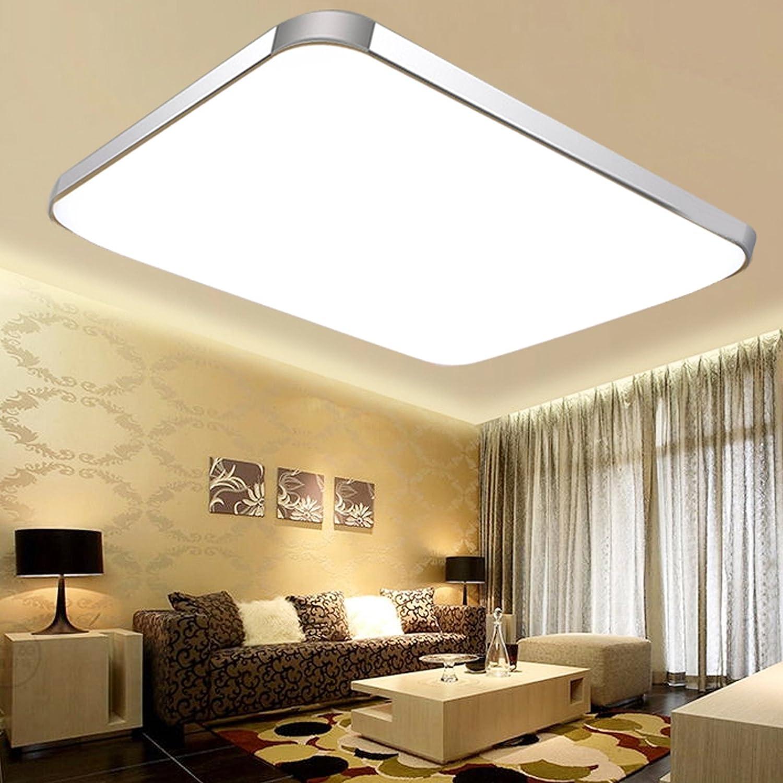 Baytter LED Deckenleuchte Deckenlampe dimmbar mit Fernbedienung ...