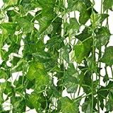 MARTHA&IVAN Artificial Ivy – 6 Pack 40Ft, Fake Ivy Garland Decorations, Fake Plants, Fake Vine, Vine Decoration for…
