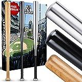 BearCraft Mazze da Baseball in Legno o Alluminio. Solo Ora con ** eBook Gratuito ** | con 79 cm di Lunghezza Ideale…