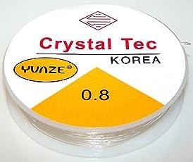 iDream 10m 0.8mm Crystal Elastic Beading Cord String Thread for Necklace Bracelet DIY