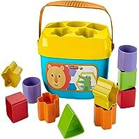 Fisher-Price Mon Trieur de Formes jouet bébé, boite avec 10 blocs, pour apprendre à trier et à empiler, couleurs vives…