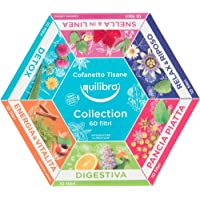 Equilibra Cofanetto Tisane Collection, 60 filtri