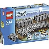 LEGO City 7499 - Flexible Schienen, Zugspielzeug-Zubehör