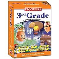 Pioneers Grade- 3 English EVS Science Maths GK CD (Pack Of 5) Universal Syllabus
