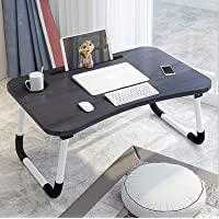 ADRIAN Multi-Purpose Laptop Desk for Study and Reading with Foldable Non-Slip Legs Reading Table Tray, Laptop Table…