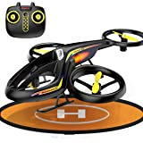 Syma RC Helicopter With Remote Control, Helicopters Toys with Altitude Hold Gyro Indoor Outdoor Helicopter Pad, 2.4Ghz RC Plane 3.5 Channels, RC Flying Drone With Landing Pad Dronepad For Kids Adults