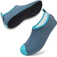 VIFUUR Chaussures de Sport Aquatique Femmes Hommes de Yoga Pieds Nus sèchent Rapidement Les Chaussures Aqua pour la…