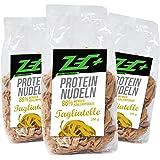 Zec + protein lågkolhydratpasta, paket med 3 – 3 x 250 g, tillverkad i Tyskland
