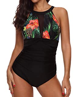 Deceny CB Women's One Piece Swimwear Monokini Swimwear One