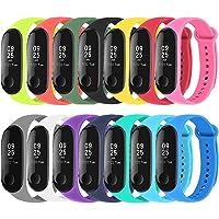 Mardozon 14 Colori Cinturino Xiaomi Mi Band 3 / Mi Band 4 Orologio da Polso di Ricambio per Smartwatch Mi Band 4…