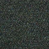 Kunstrasen Rasenteppich mit Noppen | Höhe ca. 10,3mm | 133, 200 und 400 cm Breite | blau grau | Meterware, verschiedene Größen | Größe: 6,5 x 4 m
