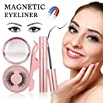 Magnetic Eyeliner set, Magnetic Eyeliner With Magnetic Eyelashes, Magnetic Eelashes Natural Look Lashliner Kit For Use...