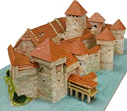 CASTELLO DI CHILLON Svizzera Aedes Ars 1012 mattoni ceramica kit di modellismo in ceramica