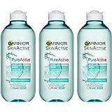 Garnier Pure Active Daily Deep Pore gezichtswater tegen onzuiverheden, voor meer glans.