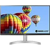 LG 24ML600S Monitor 24' FULL HD LED IPS, 1920x1080, 1ms MBR, AMD FreeSync 75Hz, Audio Stereo 10W, HDMI (HDCP 1.4), VGA…