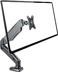 NOVAATO Premium Monitorhalterung - Flexibler Monitorarm Mit 360° Funktion - Voll Bewegliche Monitor Halterung Für Die Perfekte Bildschirm Position