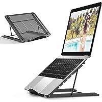 Jumkeet Support Ordinateur Portable, Support PC Portable Ventilé, Laptop Stand Réglable Ergonomique Léger Table de Lit…