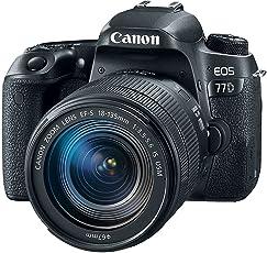 Canon EOS 77D 24.2MP Digital SLR Camera + EF-S 18-135 mm 3.5-5.6 is USM Lens