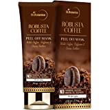 StBotanica Robusta Coffee Peel Off Mask 100g | With Coffee, Caffeine And Cocoa Butter | No SLS, Paraben