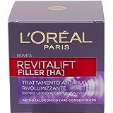 L'Oréal Paris Crema Viso Giorno Revitalift Filler, Azione Antirughe Rivolumizzante con Acido Ialuronico Concentrato, 50 ml